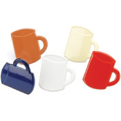 Eyelet Outlet Brads-Coffee Cup 12/Pkg Wholesale Bulk