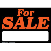 Duro Brite Signs 11-1/2'X8'-For Sale Wholesale Bulk