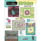Paper Flair Card Kit-Birthday, Makes 10 Cards