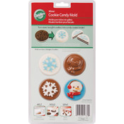 Cookie Candy Mold, Snowflake Wishes