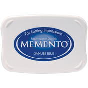 Memento Full Size Dye Inkpad-Danube Blue