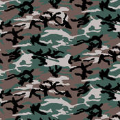 Hav-A-Hank Camouflage Bandannas 22&quot;X22&quot;-Woodland