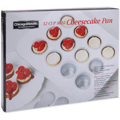 "Mini Cheesecake Pan 12 Cavity-13.90""X10.60"" (2""X1."