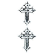 Jolee's By You Dimensional Stickers Slim-Gem Cross