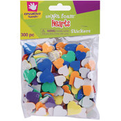 Foam Stickers 300/Pkg-Hearts Wholesale Bulk