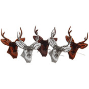 Eyelet Outlet Brads-Deer Head 12/Pkg Wholesale Bulk