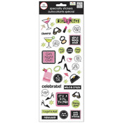 "MAMBI Specialty Stickers 5""X12"" Sheet-Girls Night"