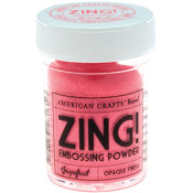 American Crafts Zing! Opaque Embossing Powder 1 Oz-Grapefruit Wholesale Bulk