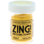 American Crafts Zing! Opaque Embossing Powder 1 Oz-Mustard Wholesale Bulk