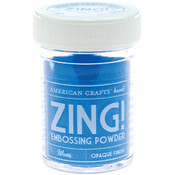 American Crafts Zing! Opaque Embossing Powder 1 Oz-Wave Wholesale Bulk
