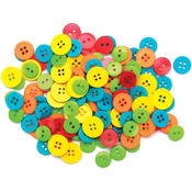Favorite Findings Basic Buttons Assorted Sizes 130