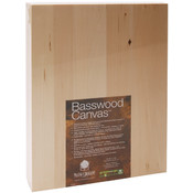 "Basswood Canvas 9""X12""-"