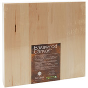 "Basswood Canvas 12""X12""-"