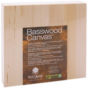 "Basswood Canvas 8""X8""-"