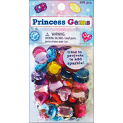 Colorful Gems-Princess 100/Pkg