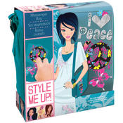Style Me Up Messenger Bag Kit-Blue