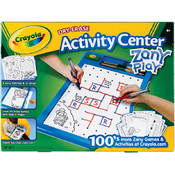 Crayola Dry-Erase Activity Center-Zany Play Wholesale Bulk