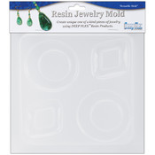 Resin Jewelry Reusable Plastic Mold 6.25&quot;X7&quot;-Diamo