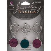 Jewelry Basics Connectors, 6-Pack