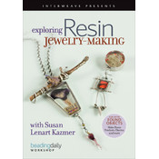 Book -Exploring Resin Jewelry-Making DVD
