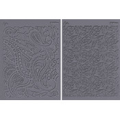 Stamp Set Sheets-Flow-Foliage &amp;amp; Paisley