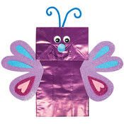 Foam Kit - Makes 1-Paper Bag Butterfly