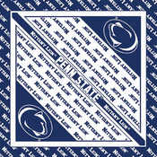 NCAA Collegiate Bandanna 22&quot;X22&quot;-Penn State