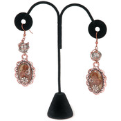 Darice Jewelry Stand 6'X3.75'-Black Velvet Wholesale Bulk