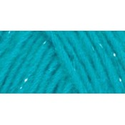 Coats: Yarn Red Heart Shimmer Yarn-Turquoise Wholesale Bulk
