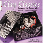 Book -Clay Classics Inspired By Zentangle