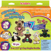 Sculpey Activity Kit-Clay Bears