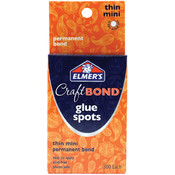 Elmers/X-Acto Elmer's Craft Bond Glue Spots 300/Pkg-Thin Mini Wholesale Bulk