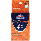 Elmer's Craft Bond Glue Spots 200/Pkg-Thin Medium