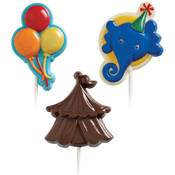 Lollipop Mold-Big Top 3 Cavities (3 Designs)