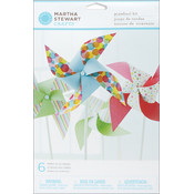 Modern Festive Pinwheel Kit - Makes 6
