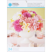 Vintage Girl Tissue Paper Flowers Kit - Makes 24