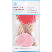 Martha Stewart Vintage Girl Food Picks 24/Pkg Wholesale Bulk