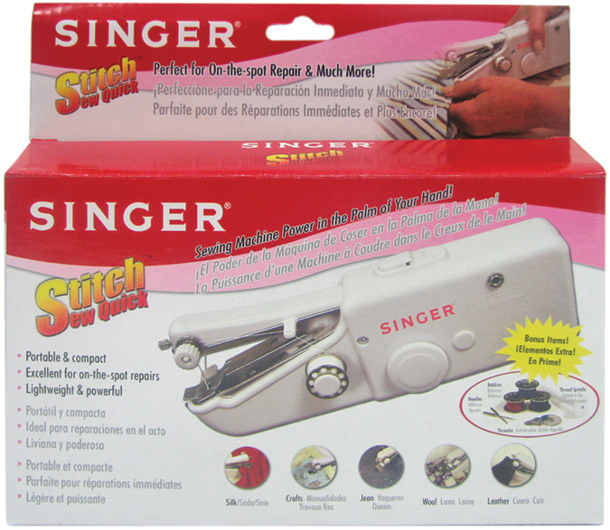 Wholesale Stitch Sew Quick Hand Held Sewing Machine SKU 40 Best Handheld Sewing Machine Heavy Duty