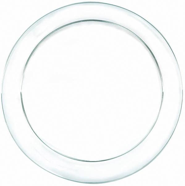 Wholesale Clear Plastic 9 Inch Dinner Plates 24 Pack SKU 792896 DollarDays