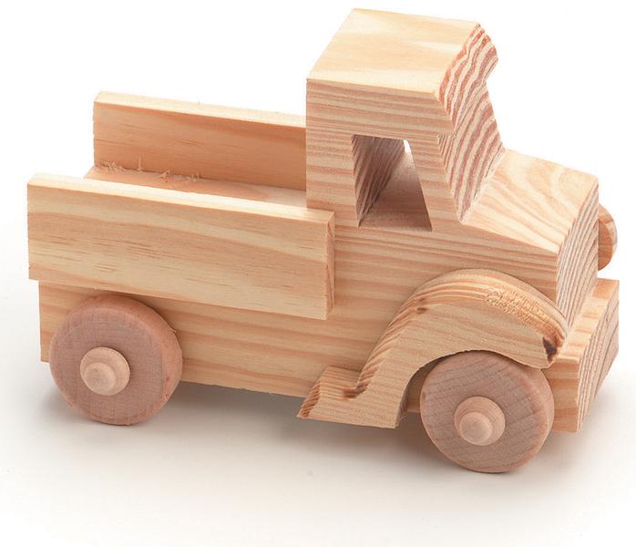 ''Wood TOY TRUCK Kit - 2.5'''' x 4'''' x 2.5'''' (982249)''