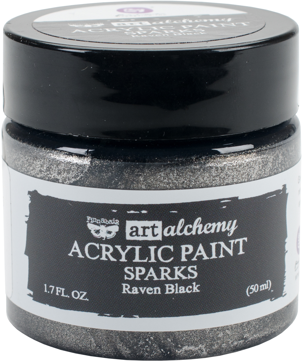 Wholesale finnabair art alchemy sparks acrylic paint 1 7 for Acrylic paint in bulk