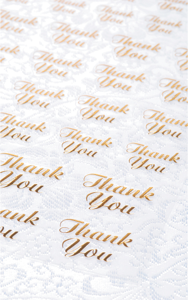 Clear STICKERS 47/Pkg-Gold Thank You [1201229]