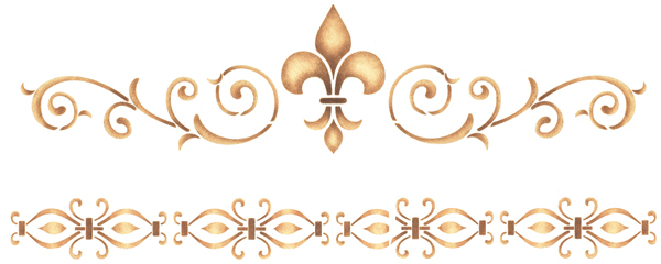 Wood Appliques additionally Fleur De Lis Tattoo On Girl Left Hip also 62183 Large Area Rugs 10 X 14 also New Mexico Wrought Iron Wall Decor in addition House Decorating Ideas For Handsome Exterior Farmhouse Design Ideas. on fleur de lis home furniture