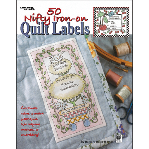 Free embroidery quilt labels patterns