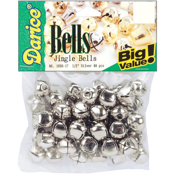 Jingle Bells .5 48/Pkg-Silver [656907]