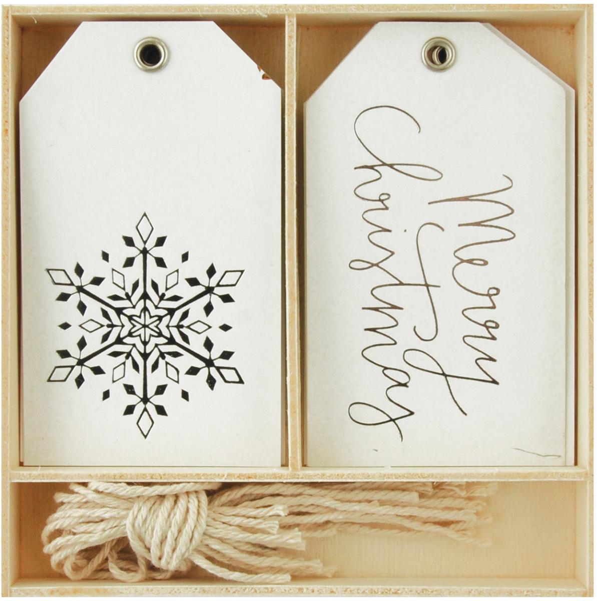 Lucky Dip Gift Tags 12/Box-Merry CHRISTMAS [2188987]