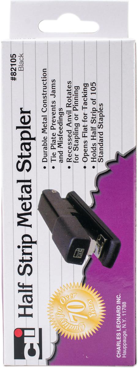 Half Strip Metal STAPLER-Black [2188194]