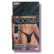 California Exotic Novelties, Llc Mens Mesh Thong (black) Wholesale Bulk