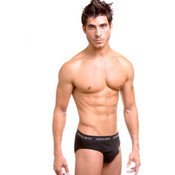 The Justus Clothing Company JB: Sport Hip Brief Black Large Wholesale Bulk