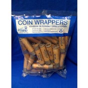Coin Wrappers - 36 Count Nickels- single count Wholesale Bulk